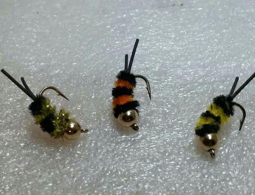 Jitter Bee jig Gills, perch
