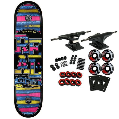 REAL Skateboard Complete WALKER SPECTRUM LOWPRO 8.25