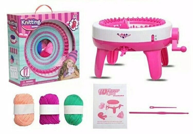 Manual Knit Scarf Machine Scarf Hat Sock Knitting Machine DIY Scarf Kids Gift