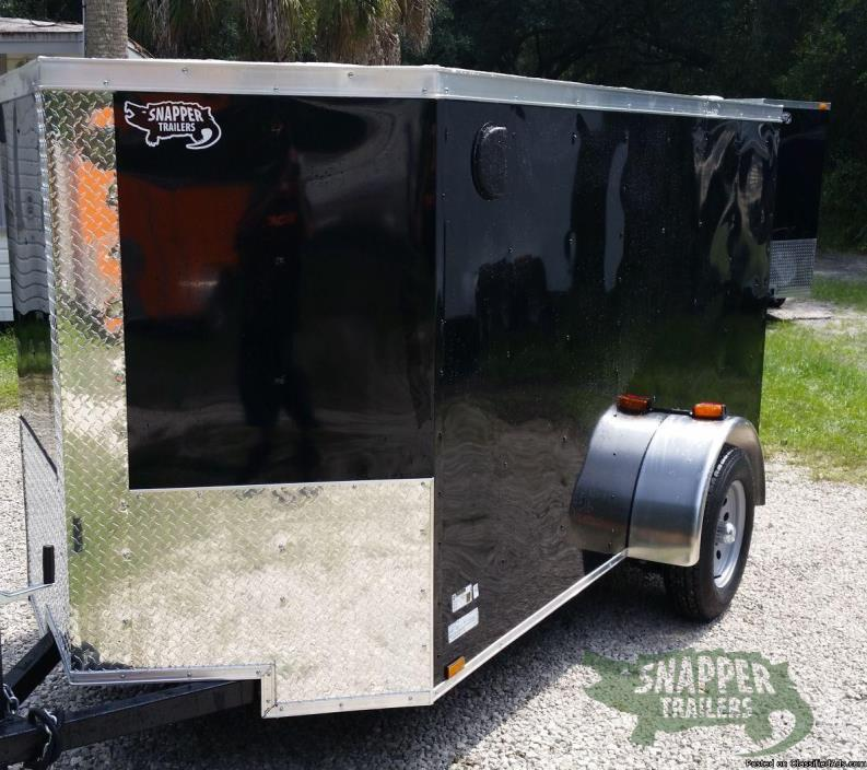 Trailer  5' by10' Black Ext NEW for SALE!