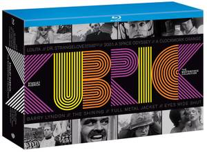 STANLEY KUBRICK Masterpiece Collection BLU-RAY Box Set! BRAND NEW!