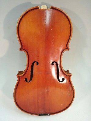 Pfretschner 1/2 Violin Body for Parts