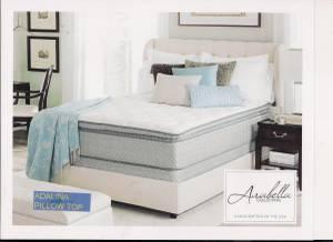 New Queen Pillow top mattress AND BOX (Mattresses World)