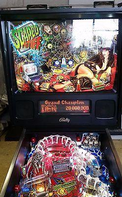 Bally Scared Stiff Pinball Machine Elvira - great condition classic rare pin