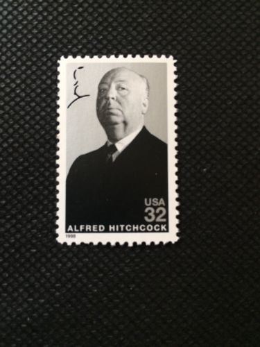 US Stamps Unused Alfred Hitchcock