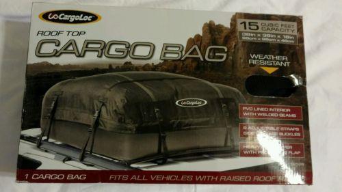 CargoLoc Rooftop Cargo Bag Universal Waterproof - NEW