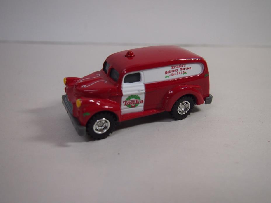 Tonka KRINGLES DELIVERY SERVICE RED DELIVERY VAN