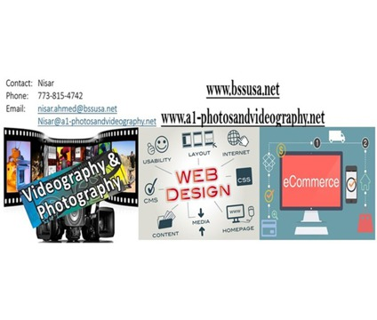 Services - Ecommerce - vidoegraphy - Website