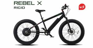 Electric Mountain Bike FAT TIRE 600 watt motor New 2 year warranty WOW (West