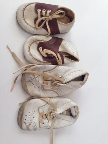 Vintage Baby Shoe Lot of 2ea.