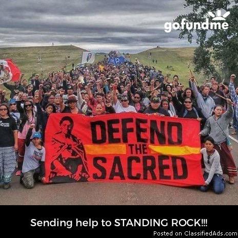 STANDING rock charity!!