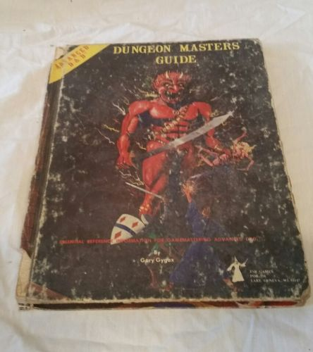 VTG Advanced D&D Dungeons And Dragons Dungeon Masters Guide Book 1979 Gygax