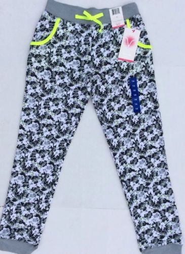 New With Tags Vigoss Girls Sweat Pants Size 14 Sportswear Floral School Gym Yoga