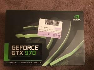 Nvidia 970 graphics card