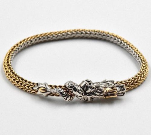 John Hardy Naga Collection Two-Tone Ladies Bracelet BZ65928XM