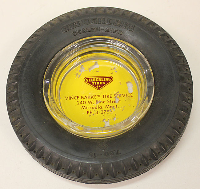 Vintage Tire Ashtray - Classifieds