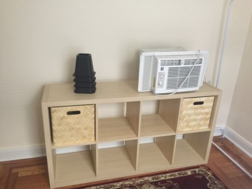 Book Shelving and air conditioner