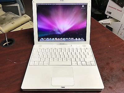Apple iBook G4 12-inch | 1.33GHz, 512MB RAM, 40GB HD