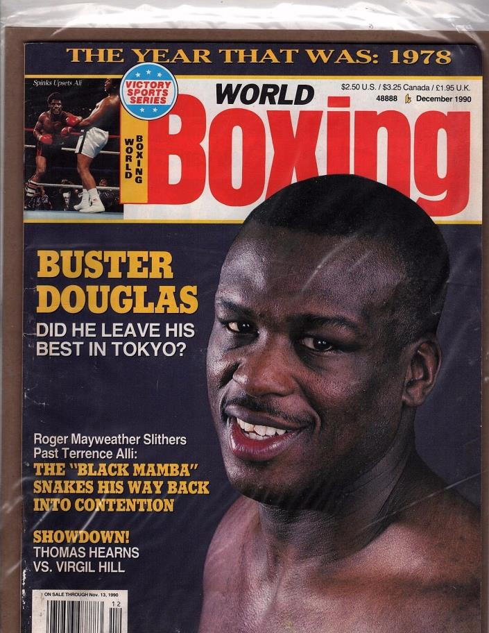 world boxing Buster Douglas Roger Mayweather Terrence Ali Dec 90 (OZ 82)