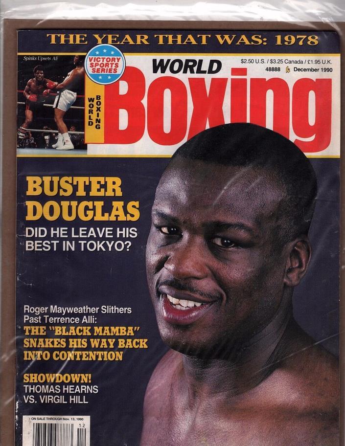 world boxing Buster Douglas Roger Mayweather Terrence Ali Dec 90 (OZ 82)