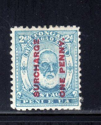 Item No. A1318 – Tonga - Scott # 25 – MH