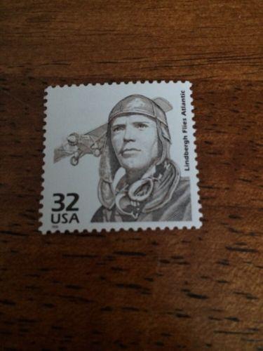 US Stamps Unused Charles Lindbergh