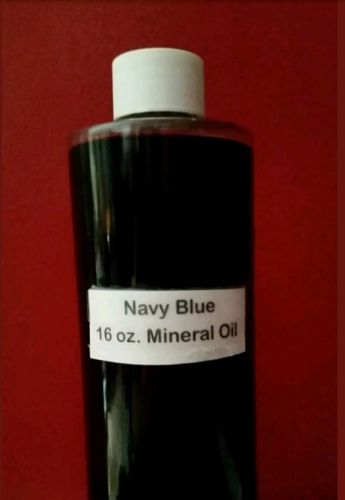 NAVY BLUE MINERAL OIL FOR OIL RAIN LAMPS