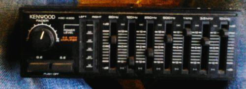 Kenwood graphic equalizer/amplifier old skool