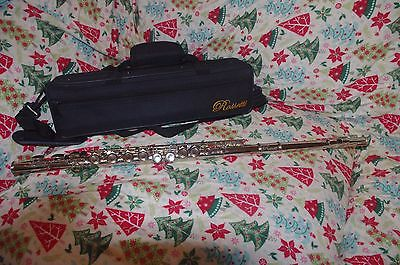 Rossetti Nickel Flute with case