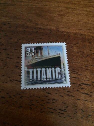 US Stamps Unused Titanic