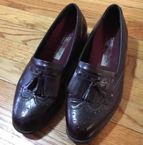 Men's Florsheim imperial Wingtip leather dress Oxfords 10 3 E