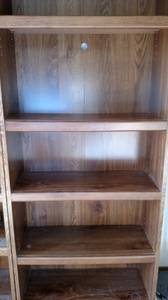 Brown Wood Book Shelves (Parker)