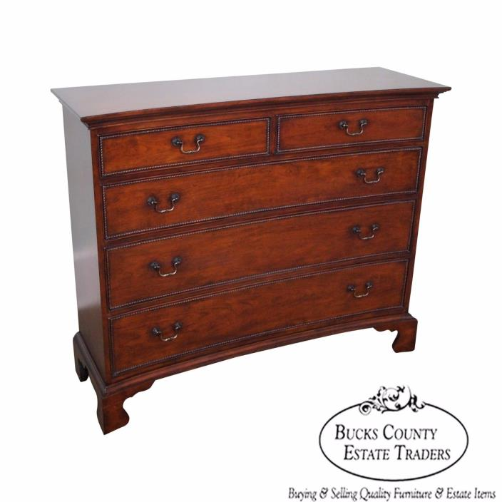 Drexel Heritage Cherry Wood Narrow Foyer Chest of Drawers