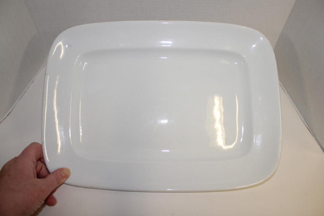 ANTIQUE C1890 ALFRED MEAKIN ENGLAND WHITE IRONSTONE 15
