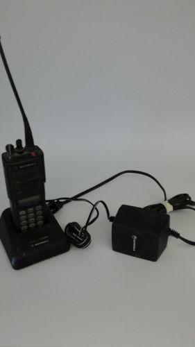 Motorola MTX 8000Full Keypad! FM Radio- Radio, Antenna, Charger, Battery, Clip