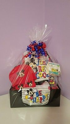 Mickey Mouse Baby Gift Basket
