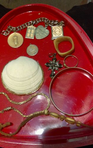 lot of junk jewelry