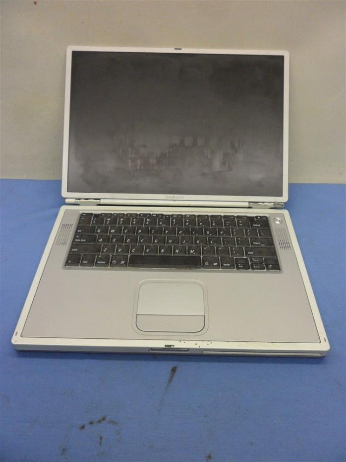 APPLE POWERBOOK G4 A1025 PARTS OR REPAIR NOT TESTED