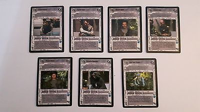 Rebel Characters (Endor) Lot - Star Wars CCG