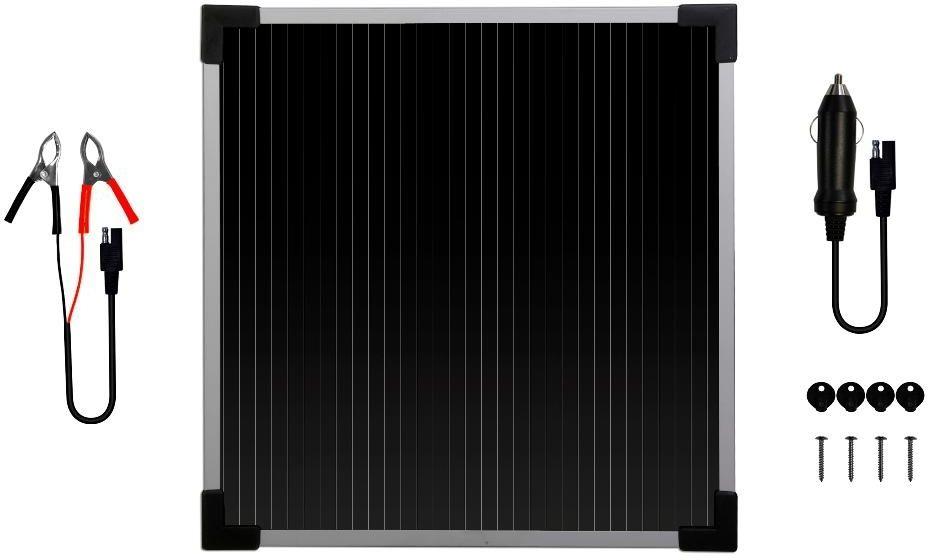 6 Watt 12 Volt SOLAR TRICKLE BATTERY CHARGER Sun Power Panel Maintainer,NEW