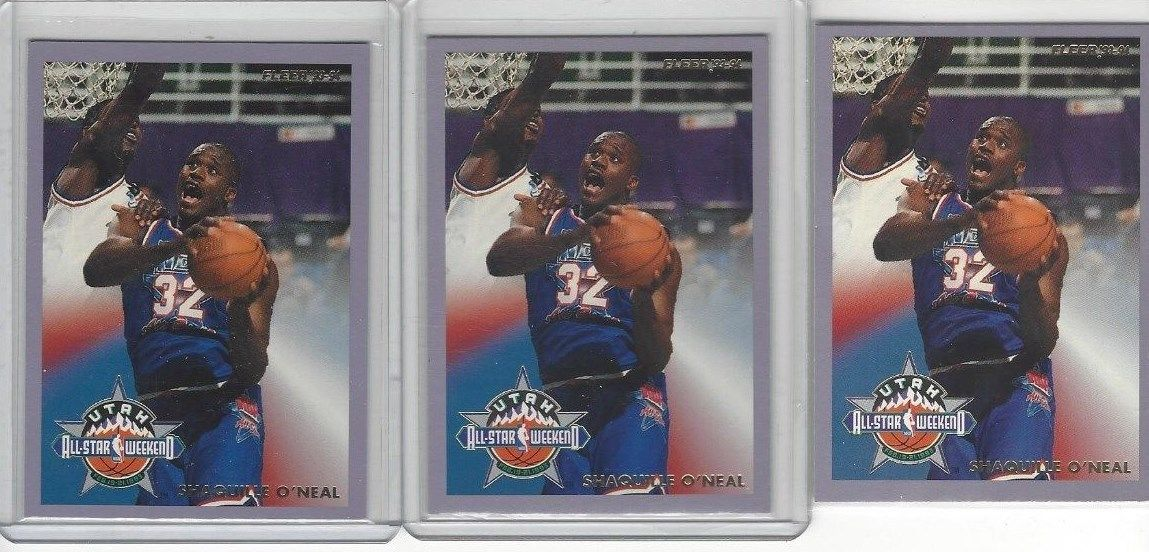 3 -1993 Shaquille (Shaq) Fleer All Star