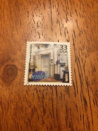 US Stamps Unused Seinfeld