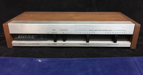 BOSE 901 Series IV Active Equalizer