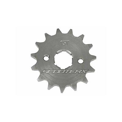 Front Sprocket 15 Tooth 420 Pitch fits Honda CRF50 F 2004-2008 RM100 11 Jr50