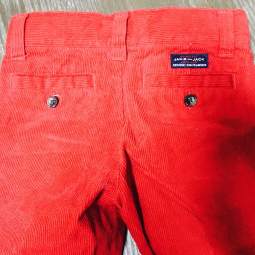 Janie and Jack Toddler Boy Corduroy Pants Size 2T