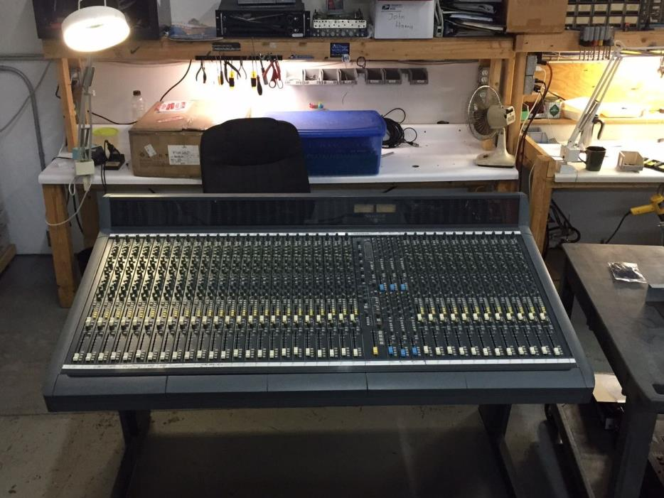 Soundcraft Sapphyre 44 Input Cleaned, Upgraded and Modded by Creation Audio Labs