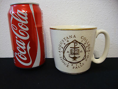 Vintage W.C. Bunting Pottery- Augustana College Sioux Falls, SD 1918 Mug