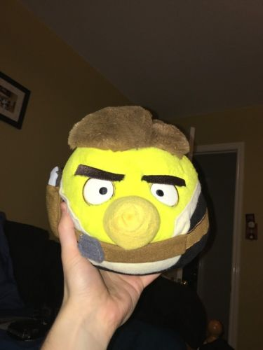 Angry Birds Star Wars Han Solo Plush Toy
