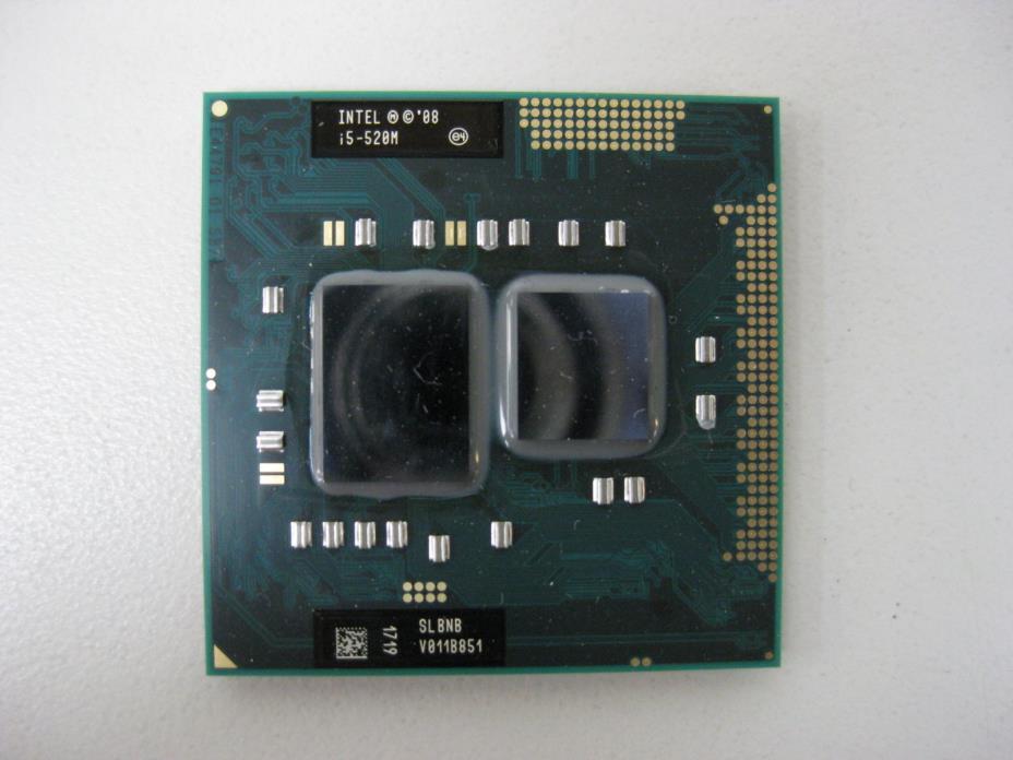 Intel Core i5-520M 2.4Ghz 3M Cache Socket G1 SLBNB  Laptop CPU Processor