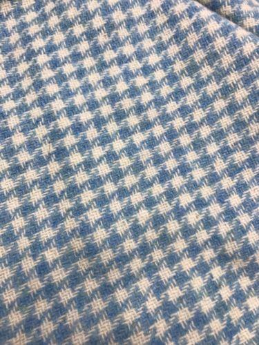 Vintage Wool Tweed Fabric 60X34